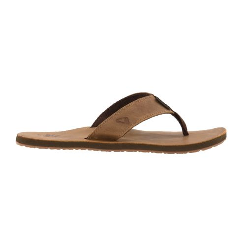 Reef Men's Leather Smoothy Flip Flops