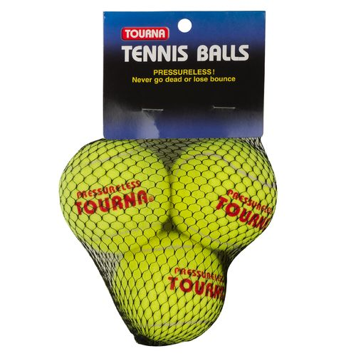 Tourna Pressureless Tennis Balls 3-Pack