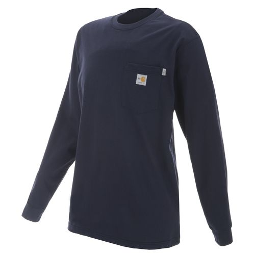 Carhartt Men's Work Dry Flame Resistant Long Sleeve T-shirt - view number 1