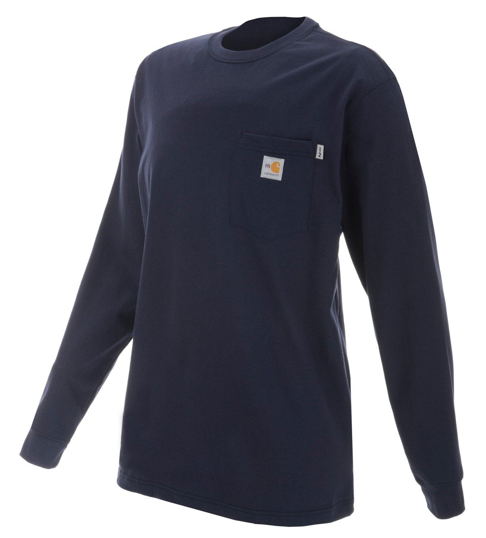 d71166c1a471 Carhartt Men s Work Dry Flame Resistant Long Sleeve T-shirt
