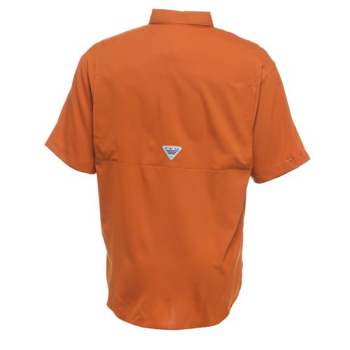 Columbia Sportswear Men's University of Texas Collegiate Tamiami Short Sleeve Shirt - view number 2