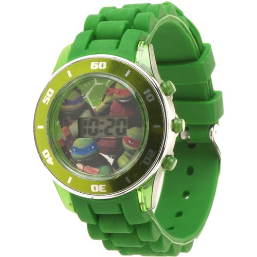 Display product reviews for Nickelodeon Boys' Teenage Mutant Ninja Turtles Flashing Watch