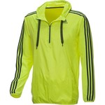adidas Men's Ultimate Half-Zip Wind Jacket