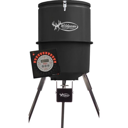 Display product reviews for Wildgame Innovations Trophy Hunter 225-lb Tripod Feeder