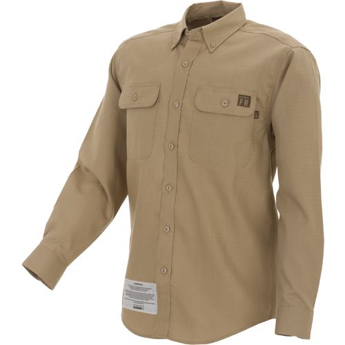 Image for Wolverine Men's Flame-Resistant Ripstop Long Sleeve Shirt from Academy