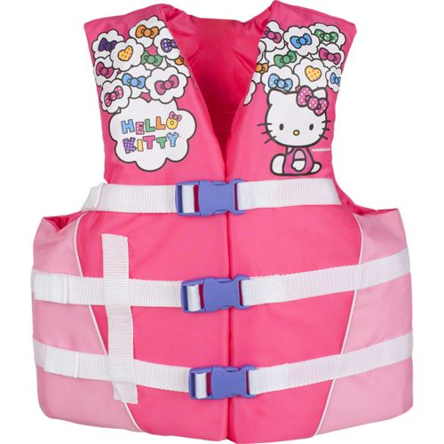 Image for Exxel Outdoors Kids' Sanrio Hello Kitty Life Vest from Academy