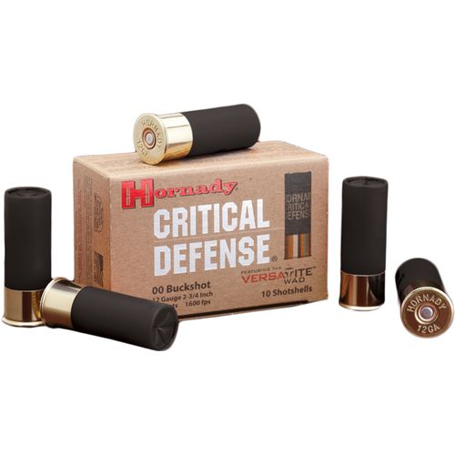 Hornady Critical Defense 12 Gauge 00 Buckshot