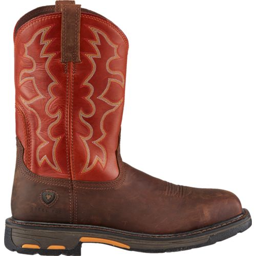 Display product reviews for Ariat Men's WorkHog Steel Toe Work Boots