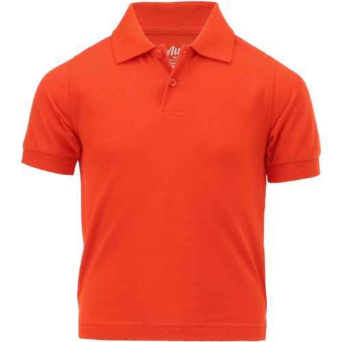 Austin Trading Co. Boys' Uniform Short Sleeve Pique Polo Shirt