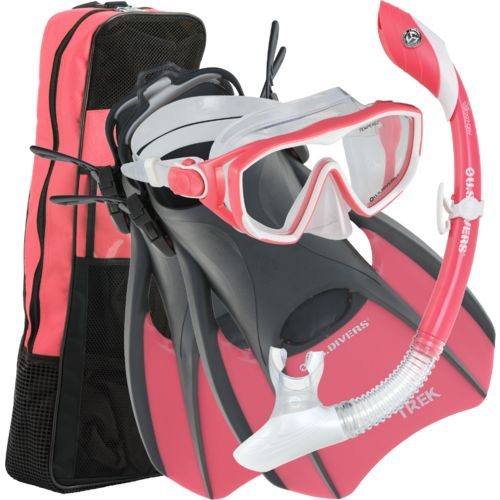 Display product reviews for U.S. Divers Ladies' Diva Silicone Snorkeling Set - Coral