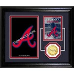 The Highland Mint Atlanta Braves Fan Memories Photo Mint