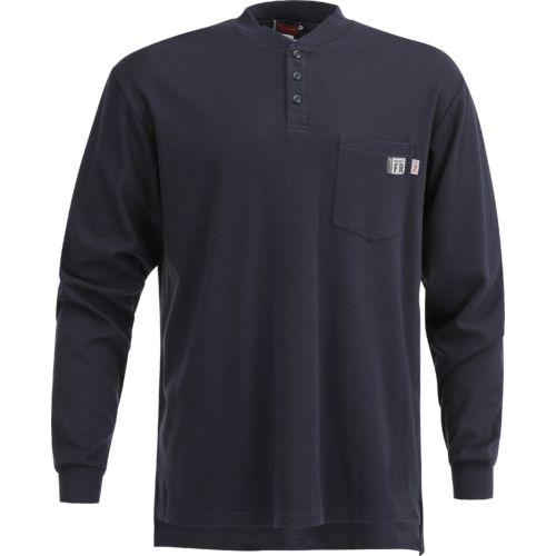 Wolverine Men's Flame Resistant Long Sleeve Henley