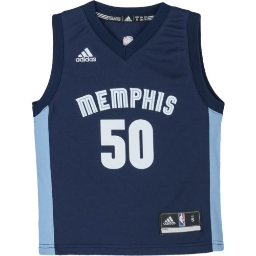 adidas™ Boys' Memphis Grizzlies Zach Randolph #50 Replica Road Jersey - view number 2
