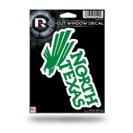 Rico University of North Texas Medium Die-Cut Decal
