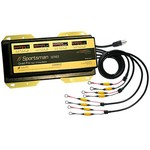 Dual Pro Sportsman Series 4-Bank Battery Charger