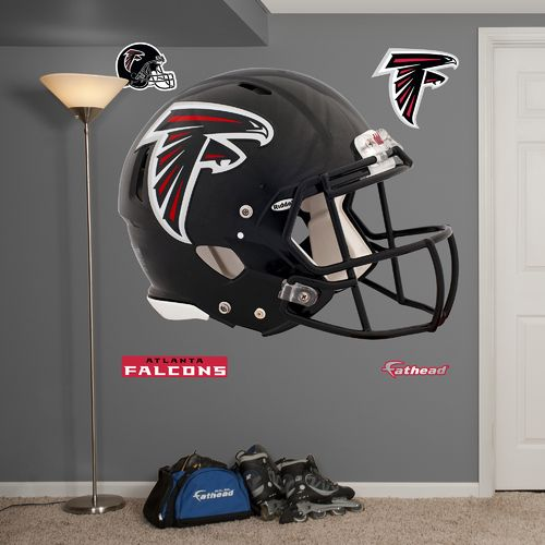 Fathead Atlanta Falcons Helmet and Team Decals 5-Pack