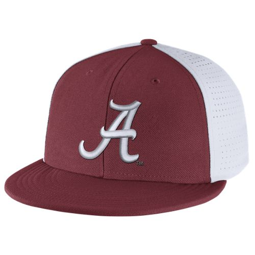Nike™ Men's University of Alabama Players True Swoosh Flex Cap