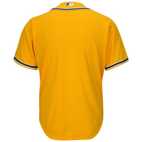 Majestic Men's Oakland Athletics Cool Base® Alternate Replica Jersey - view number 2