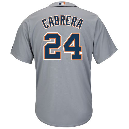 majestic mens detroit tigers miguel cabrera 24 cool base® jersey view number