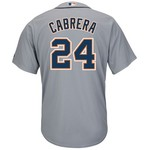 Majestic Men's Detroit Tigers Miguel Cabrera #24 Cool Base® Jersey - view number 1