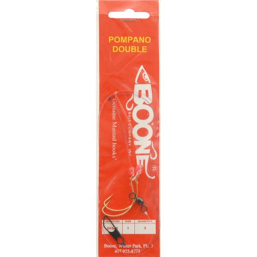 BOONE Double Pompano Rigs 2-Pack