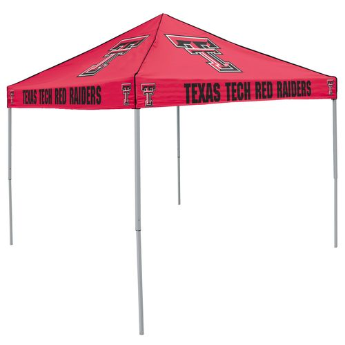 Logo Texas Tech University Straight-Leg 9 ft x 9 ft Color Tent