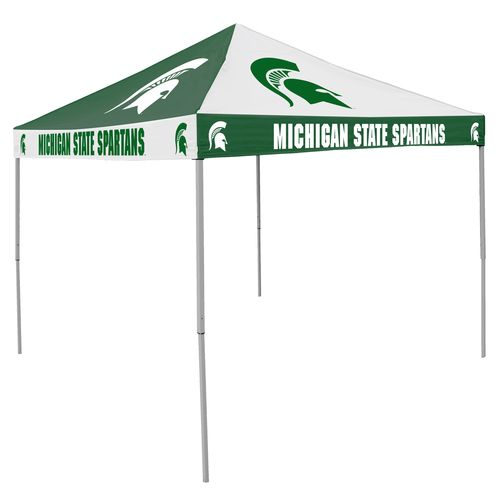 Logo Michigan State University Straight-Leg 9 ft x 9 ft Checkerboard Tent - view number 1
