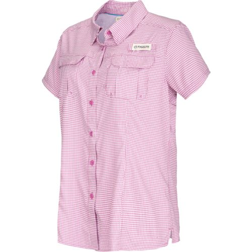 Magellan outdoors women 39 s aransas pass short sleeve for Magellan women s fishing shirts