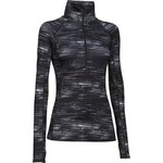 Under Armour® Women's ColdGear® Cozy Printed Half Zip Sweatshirt