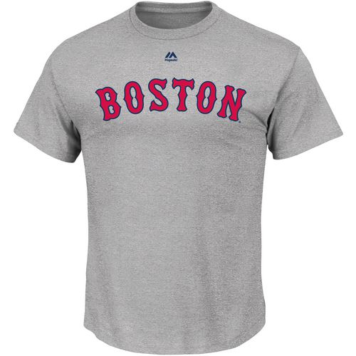 Majestic Men's Boston Red Sox Official Wordmark T-shirt