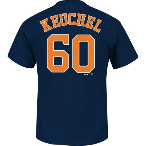 Display product reviews for Majestic Men's Houston Astros Dallas Keuchel #60 T-shirt