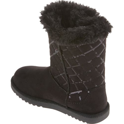 Magellan Outdoors Girls' Quilted Sequin Winter Boots - view number 3