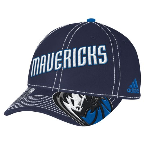 adidas™ Adults' Dallas Mavericks Team Nation Ball Cap