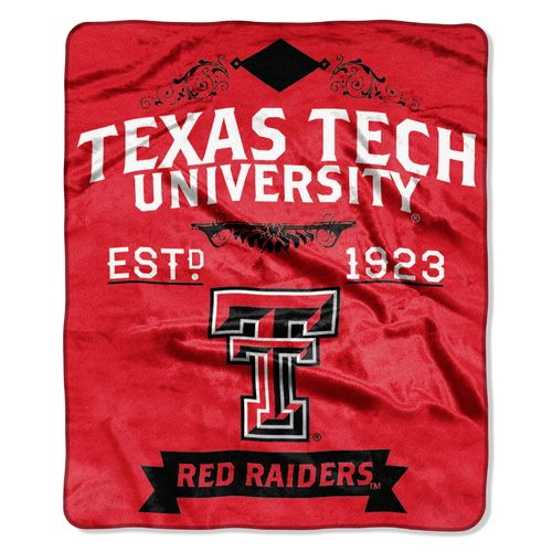 The Northwest Company Texas Tech University Label Raschel Throw