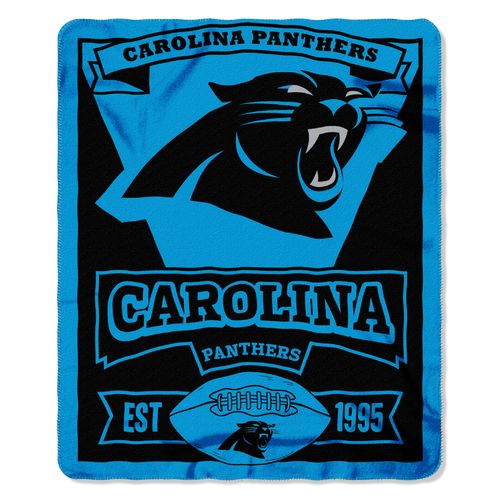 The Northwest Company Carolina Panthers Marquee Fleece Throw