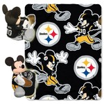 The Northwest Company Pittsburgh Steelers Minnie Mouse Hugger and Fleece Throw Set