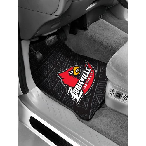 The Northwest Company University of Louisville Car Floor Mats 2-Pack