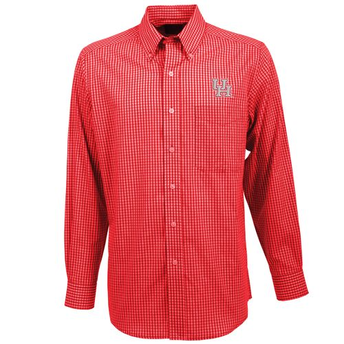 Antigua Men's University of Houston Associate Button-Down Shirt