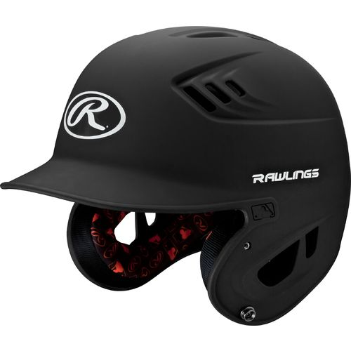 Rawlings Adults' R16 Matte Finish Batting Helmet