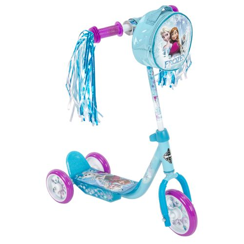 "Display product reviews for Huffy Girls' Frozen 3-Wheel 6"" Preschool Scooter"