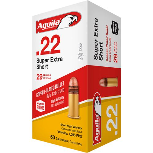 Aguila Ammunition Super Extra .22 29-Grain Rimfire Ammunition