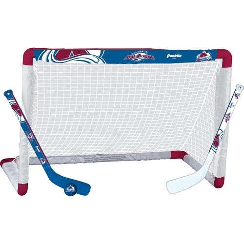 Franklin Colorado Avalanche Mini Hockey Goal Set