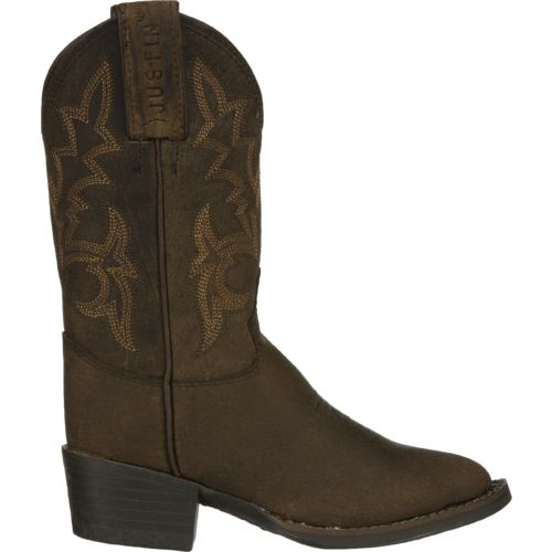 Justin Kids' Buffalo AQHA Foundation Western Boots