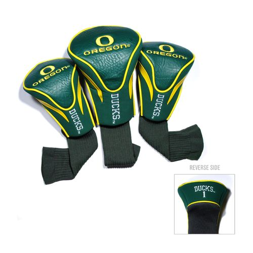 Team Golf University of Oregon Contour Sock Head Covers 3-Pack