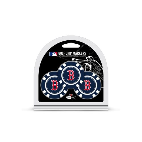 Team Golf Boston Red Sox Poker Chip and Golf Ball Marker Set