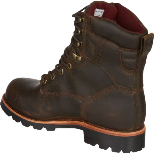 Chippewa Boots Men's Bay Crazy Horse Utility Waterproof Insulated Rugged Outdoor Boots - view number 3