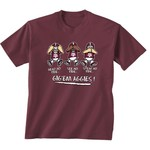 New World Graphics Toddlers' Texas A&M University No Evil T-shirt