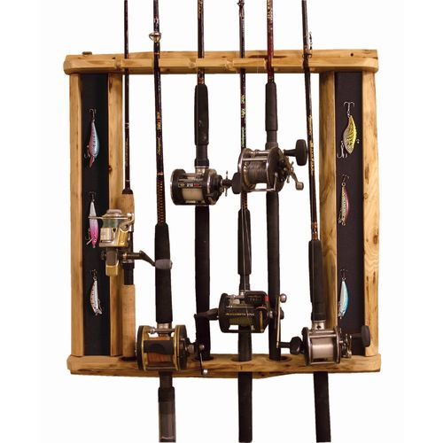 Rod racks storage fishing rod racks fishing rod for Walmart fishing pole holder
