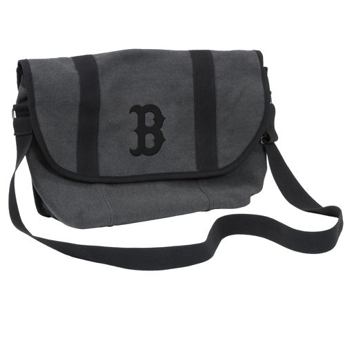 Logo Boston Red Sox Varsity Messenger Bag