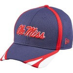 New Era Men's University of Mississippi 39THIRTY Training Cap